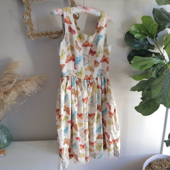 Banana Republic Dresses & Skirts - Rare Boho Butterfly silk dress